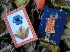 https://flic.kr/p/h9BEmX   Two ATCs finished   I've finished making 2 ATCs so far, now all I have to do is decide which I am sending to my partner