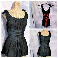 Witch Corset Maxi Dress Black, Green, Purple, Orange Tangerine, Halloween Ren Faire Custom Renaissance Girls Womens. $85.00, via Etsy.