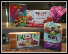 Just started doing my review on #RockTheLunchbox on #mommytime365 and so far the kids LOVE the snacks!!!