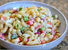 Fast Macaroni Salad Recipe | Recipes Table