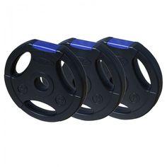 Hantelscheiben PE-Gripper Blue - schwarz / blau - 30 mm Die Hantelscheiben verfügen nicht nur über eine super Optik, sondern bieten ebenso ein super Handling durch die integrierten Eingriffe. Die Scheiben bestehehn aus extra starken, dickwandigen Hartkunststoff und sind äußerst strapazierfähig + langlebig. #hantelscheiben #30mm #megafitness http://www.megafitness-shop.info/Kraftsport/Hanteln-Gewichte/Hantelscheiben/30-mm/Hantelscheiben-PE-Gripper-Blue-30-mm--3400.html