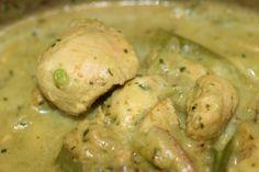 Thai green curry wih chicken