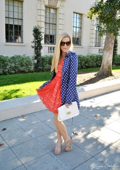Kensie lace dress in Lauren Conrad's style guide post: How to Add a Twist to Ladylike Lace Looks Style, Style Me, Coral Lace Dresses, Ruffled Dresses, Summer Outfits, Cute Outfits, Summer Clothes, Style Guides, Passion For Fashion
