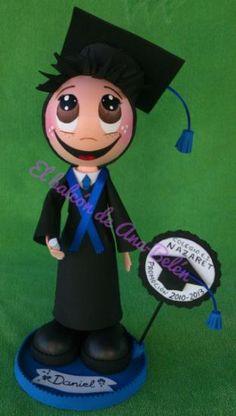 Muñeco Fofucho Graduado Personalizado