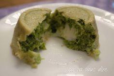 Tortino di Broccoli con Cuore Fondente di Formaggio