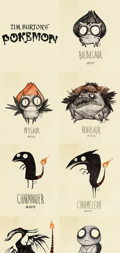 If these were the pokemons, maybe I would have liked them.