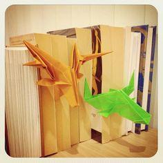 origami taxidermy (≧∇≦)
