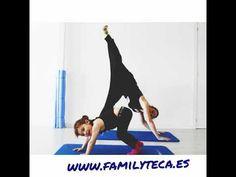 Azucena Martos Yoga Mamá e hija Demo de la gran mini profe 😍