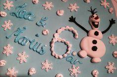 Frost-kake med Olaf