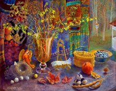 Rachel Clearfield, 1946 ~ Magical realism / Visionary painter