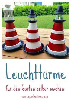 Leuchtturm-für-den-Garten-DIY Garten-DIY: Zum Sommerbeginn bauen wir einen Leuchtturm