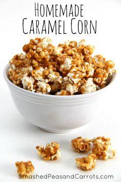 The Best Homemade Caramel Corn Ever