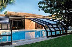 Abri Haut Angulaire Mural Exterieur Face Abrisud Piscine Diy Swimming Pool House