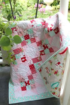 Scrappy Nines Baby Quilt Tutorial - Diary of a Quilter - a quilt blog