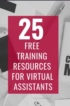 You can start your virtual assistant business by learning your virtual assistant skills using these 25 free resources. Business Planning, Business Tips, Online Business, Virtual Assistant Services, Free Training, Work From Home Jobs, Online Jobs, Online Earning, Extra Money