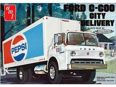 Ford C600 Pepsi City Delivery Truck