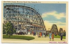 OK, a little nostalgia:   Riverview Beach Park~Pennsville NJ.  Where my parents met--at the roller rink!