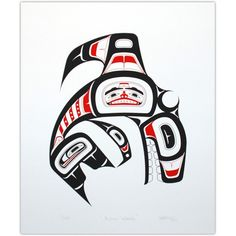 Native American Indian Art -Killer Whale   NATIVE(X)
