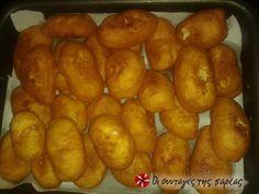 Πιροσκάκια Greek Recipes, Recipies, Potatoes, Vegetables, Cooking, Food, Recipes, Baking Center, Potato