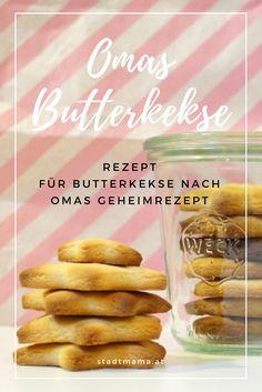 Omas Rezept für Butterkekse (Butter Plätzchen) und die besten Survival Tipps zum Kekse Backen mit Kindern