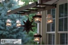Mason Jar Chandelier - Mason Jar Crafts Love