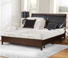 Add versatility to your air bed with an adjustable base. For example, Power Base II