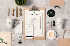 Free - Branding Stationery Mock Ups And Hero Images on Behance