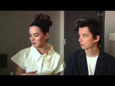 'Ender's Game' co-stars Asa Butterfield, Hailee Steinfeld are ready for your trivia (SDCC 2013)