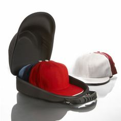 Travel, store and display up to eight baseball caps.