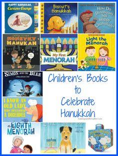 Children's Books To Celebrate Hanukkah