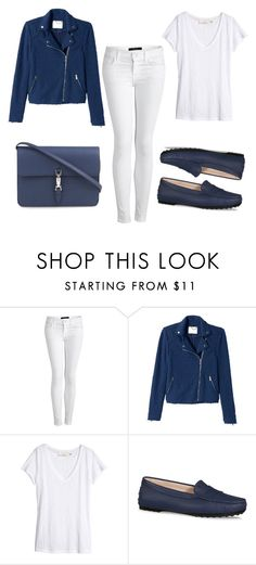 """""""2015/1193"""" by dimceandovski on Polyvore featuring J Brand, Rebecca Taylor, H&M, Tod's and Gucci"""
