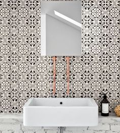 The Maiolica project is inspired by the Galleria Marca Corona, the Company Museum that preserves the Rubbiani collection, the historical heritage of Sassuolo ceramics and the genetic heritage of Marca Corona. Leed Certification, Monochrome, Decoration, Mosaic Tiles, Backsplash, Sink, Layout, Contemporary, Interior Design