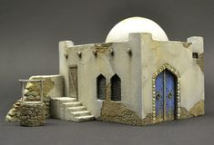 Home page Master Model Maker. It contains a slide show of various projects, an introduction by Roy Schurgers and new masters for diorama or vignette building. Christmas Nativity Scene, Christmas Villages, Christmas Crafts, Diorama Militar, Model Maker, Wargaming Terrain, Modelos 3d, Ceramic Houses, Miniature Houses
