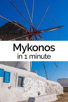 Watch Mykonos, Greece in 1 minute or read our travel guide.