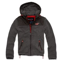 HOLLISTER SO CAL OCEANSIDE FLEECE JACKET $99.95 (I like this color better then the Betty's selection)