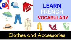 In this video, you can listen to over 70 words related to clothes and accessories in French. A great way to improve your vocabulary. Vocabulary Clothes, Learn French Beginner, Improve Your Vocabulary, Improve Yourself, Learning, Words, Accessories, Studying, Teaching