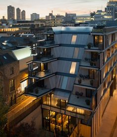 Architecture - Nobu Hotel Shoreditch in London, United Kingdom