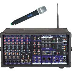 VocoPro - 900W Professional PA Mixer