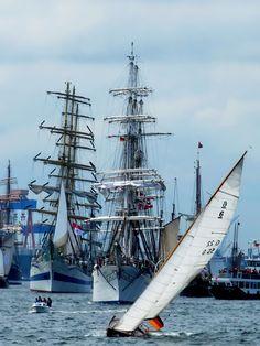 Kieler Woche Großseglerparade