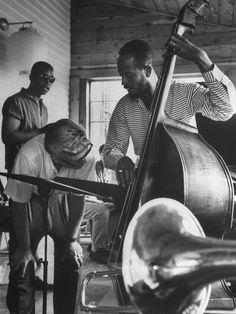 majorgloryus:  Percy Heath Jazz Workshop. 1959