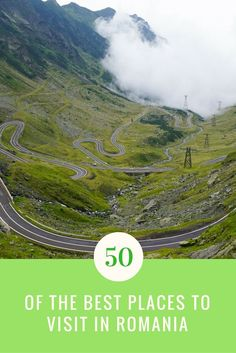 Heading to Romania and have no idea what there is to see? Here is a guide to the 50 of the Best Places to Visit in Romania! Europe Travel Guide, Europe Destinations, Romania Travel, European Travel, Where To Go, Cool Places To Visit, Travel Inspiration, Travel Ideas, The Good Place