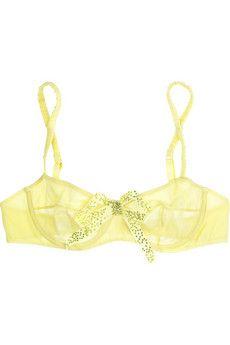 Dreaming Swarovski crystal-embellished underwired bra by Damaris