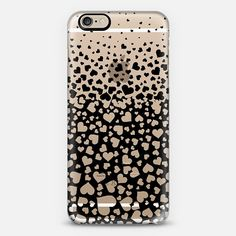 Black Field of Hearts iPhone 6 Case by Organic Saturation | Casetify. Get $10 off using code: 53ZPEA