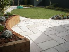 Elegant Garden Paving Designs   Mosaic Garden Paving   By VC Landscapes