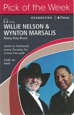 Willie Nelson & Wynton Marsalis-Rainy Day Blues Code Expiration Date September 19, 2008