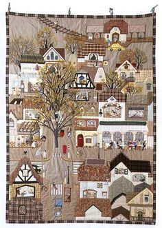 by Yukari Takahara, author of Story Quilt Just a perfect little town!