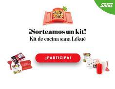 Consigue gratis un kit de cocina sana Lékué