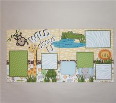 Project Center - Create a Critter 2 Contest - Wild About U Layout