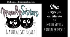 Moody Sisters Skincare: A Luxurious Treat for the Whole Body! (WIN a Gift Certificate!) - The Humbled Homemaker
