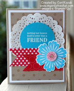 Mixed Bunch Friend Card by papertrail - Cards and Paper Crafts at Splitcoaststampers